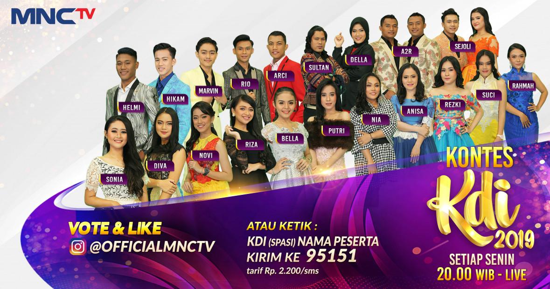 20 Bintang KDI 2019
