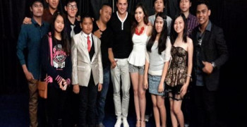 PERFORMANCE STAR HARVEST ACADEMY di MEET and GREET TOMMY PAGE, SUMMARECON MAL BEKASI