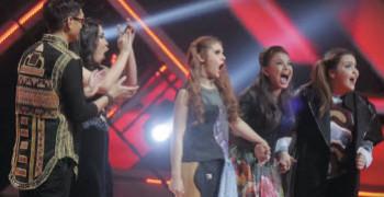 Jebe and Petty Juara X Factor Indonesia 2015